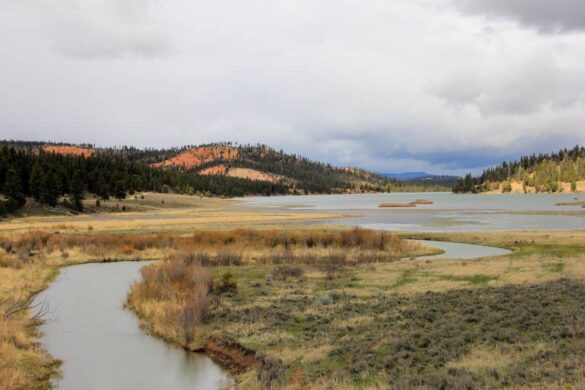 Tropic Reservoir, Dixie National Forest