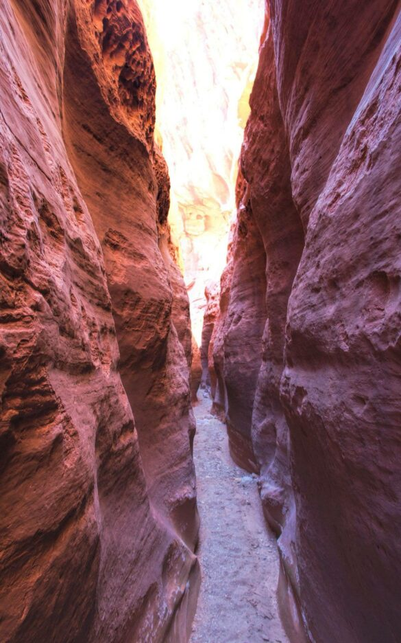 Little Death Hollow Slot Canyon - Grand Staircase-Escalante National Monument
