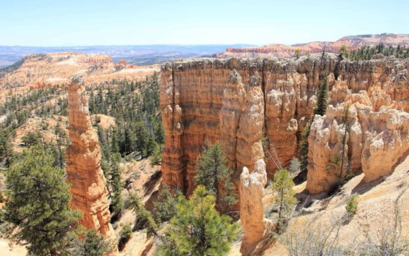 Fairyland Point Trail in Bryce Canyon