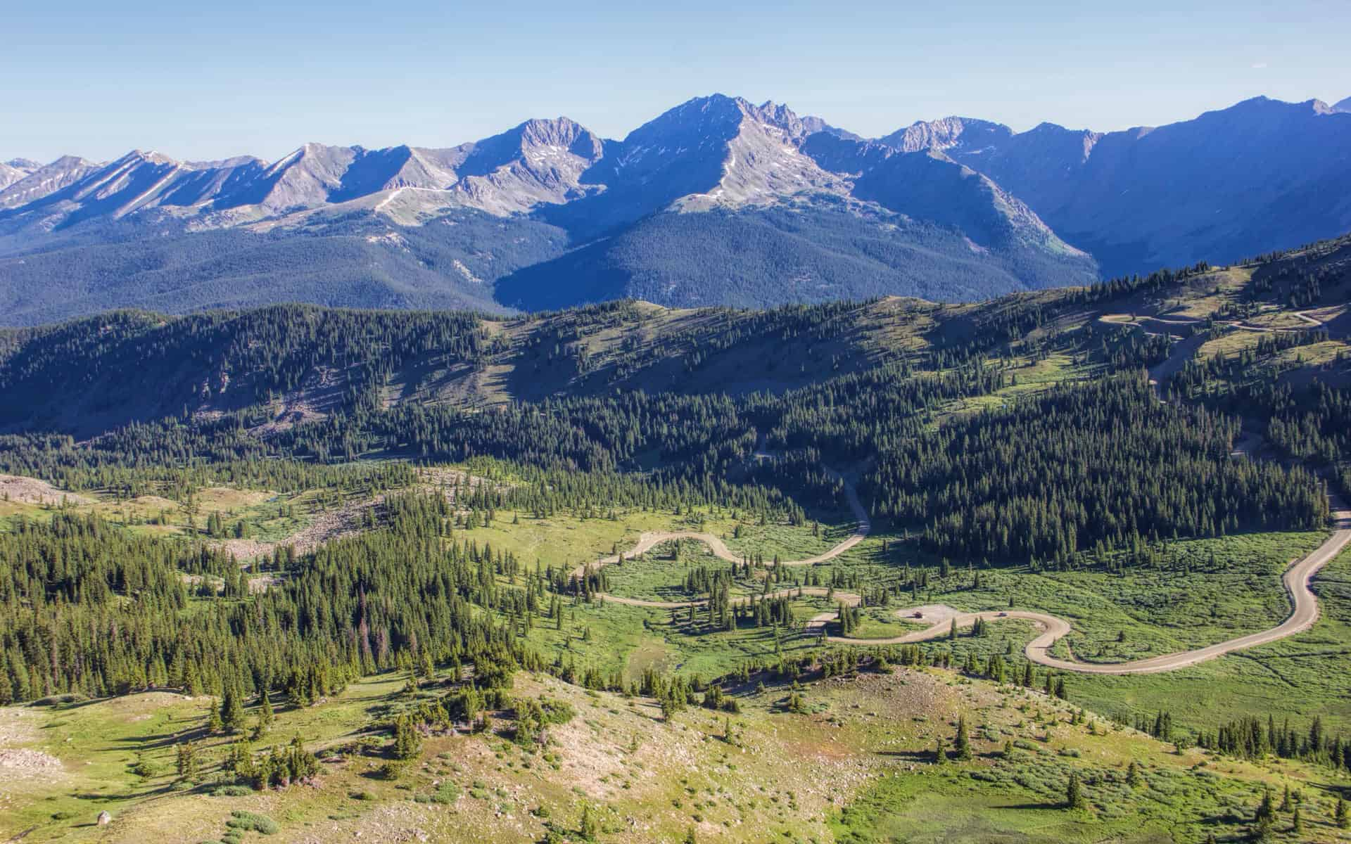 Heading up Continental Divide Trail - Picture of ...  |Cottonwood Pass