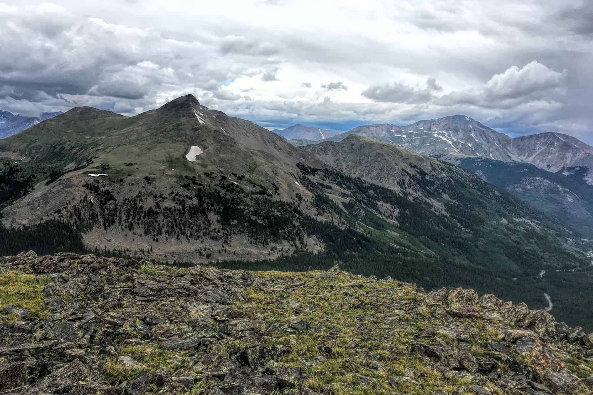 Road to Cottonwood Pass, Colorado and Tin Cup Ghost Town ...  |Cottonwood Pass